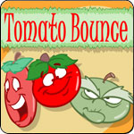 Tomato Bounce Game