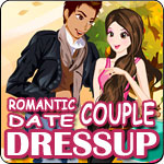 Romantic Date Couple Dress Up