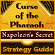 Curse of the Pharaoh Napoleons Secret Strategy Guide