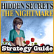 Hidden Secrets The Nightmare Strategy Guide bf