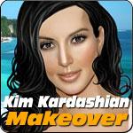 Kim Kardashian Makeover
