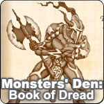 Monster Den Book Of Dread
