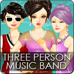 Three Person Music Band