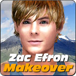 Zac Efron Makeover
